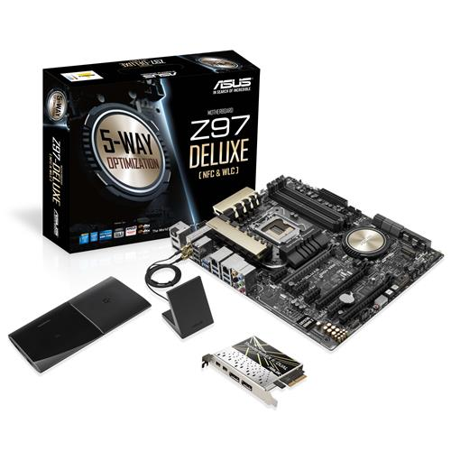 ASUS Z97-DELUXE(NFC,WLC) DDR3 1600MHZ S+V+GL 1150p