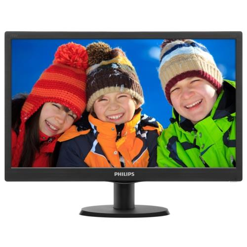 Philips 19,5 203V5LSB26-62 LED Monitör 5ms Siyah