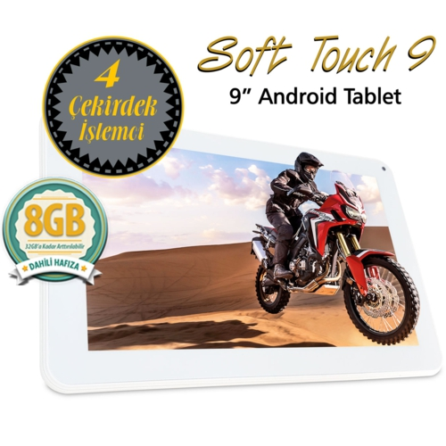 Quadro Soft Touch 9 1.33Ghz 1GB 8GB 9 Beyaz